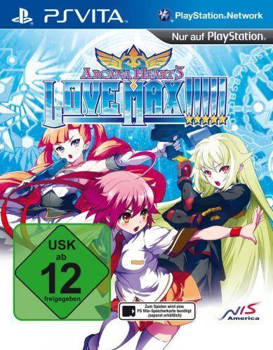 Arcana Heart 3: Love Max (Relaunch) (PS Vita) (Neu&OVP)