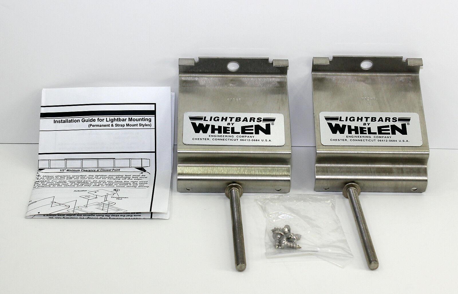 Whelen light bar mount straps edge 9000 9m lightbars mkez16 61388 picture 1 of 3 sciox Gallery