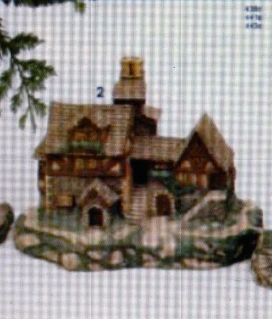 Ceramic bisque house village bakery duncan mold 441 b u for Ceramic house paint