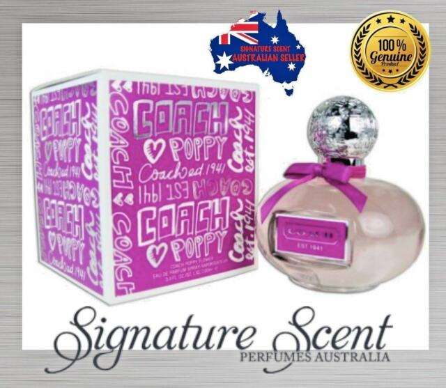 COACH POPPY 50ml EDP By COACH  Spray Perfume For Women  NEW In Box (BNIB)