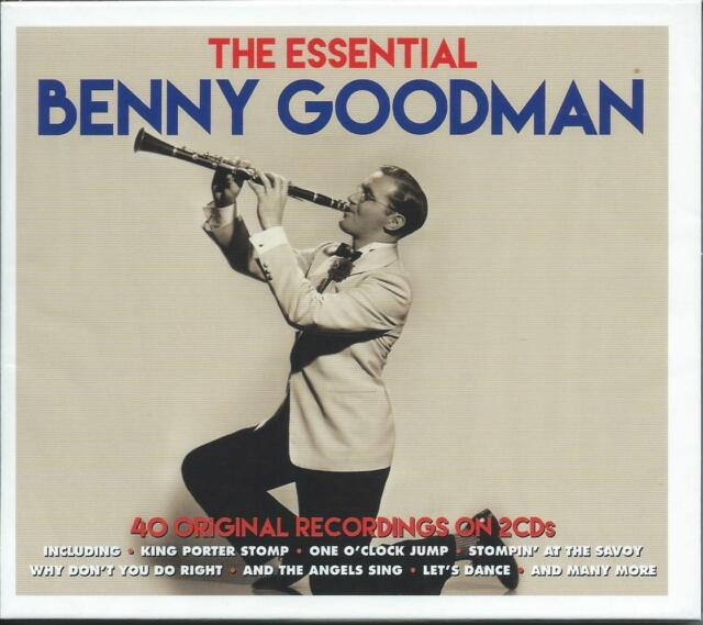 Benny Goodman - The Essential....40 Original Recordings (2CD 2015) NEW/SEALED
