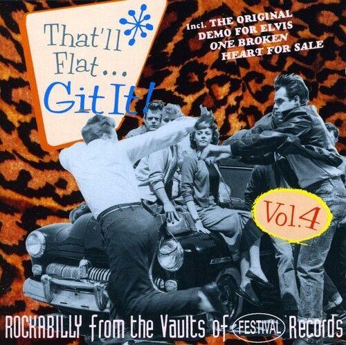 Various Artists - That'll Flat Git It! 4 / Various [New CD]