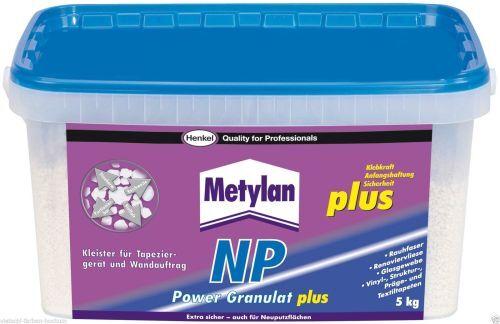 Metylan NP Power Granulat plus 5Kg  - für besondere Anforderungen -