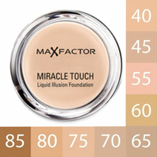 Max Factor Miracle Touch Foundation 11.5g