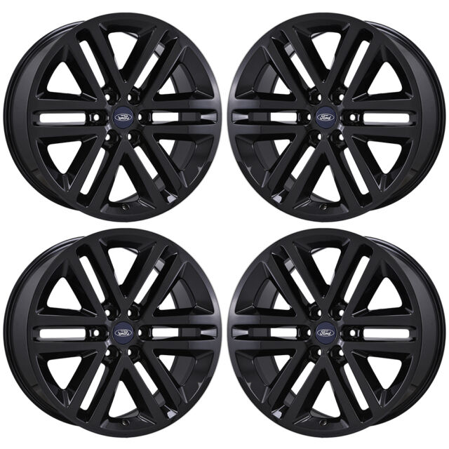 22 FORD EXPEDITION F150 TRUCK BLACK WHEELS RIMS FACTORY OEM SET 4 3993 EXCHANGE