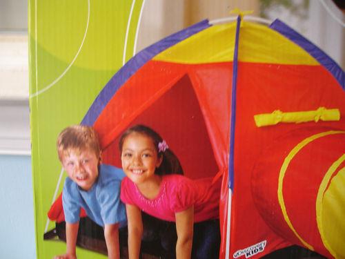 4  sc 1 st  eBay & Discovery Kids Adventure 2 PC Play Tent u0026 Tunnel Set Indoor ...