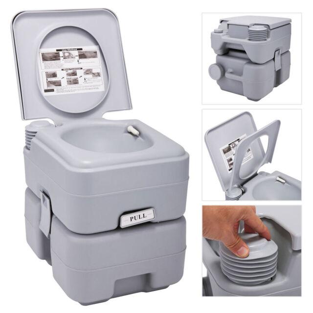 5 Gallon 20l Portable Toilet Flush Travel Camping Outdoor/indoor ...