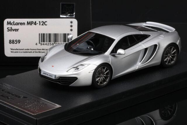 McLaren Mp4-12c Silver HPI Models 1/43 8859 | eBay