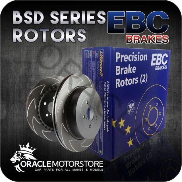 NEW EBC BSD FRONT DISCS PAIR TRACK / RACE BRAKING PADS OE QUALITY - BSD1500