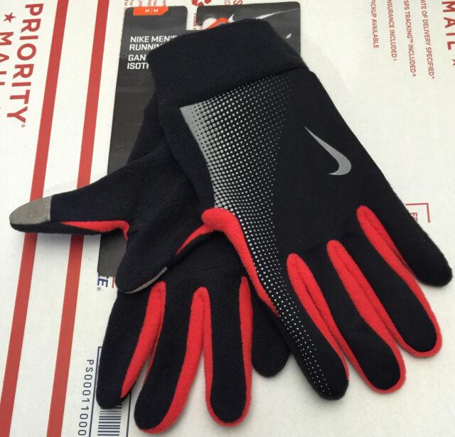 Nike Men's Thermal Tech Running Gloves- Style NRG57055 M Medium