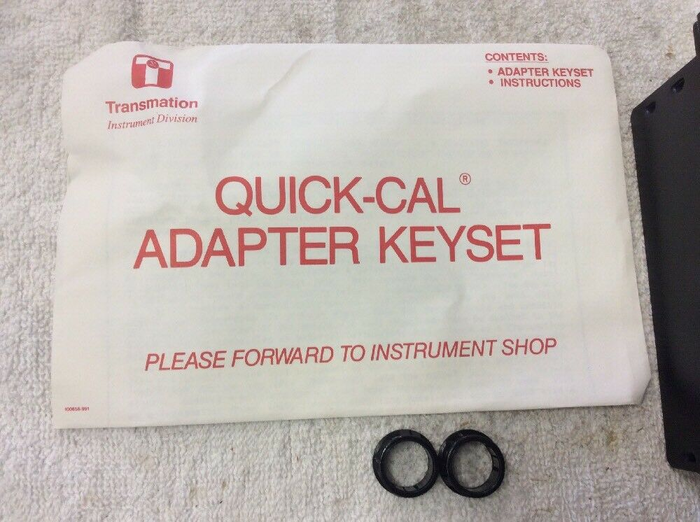 Transmation Quick Cal Adapter Keyset 3520a Ebay