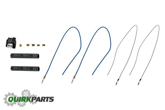 mopar 2 way wiring pigtail kit 68065018aa