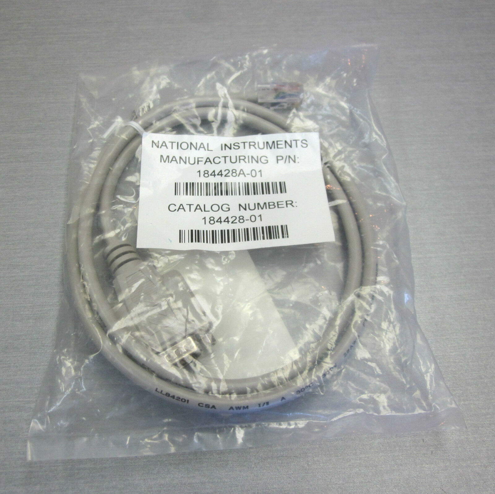 National Instruments 184428a-01 9-pin 1m Cable | eBay