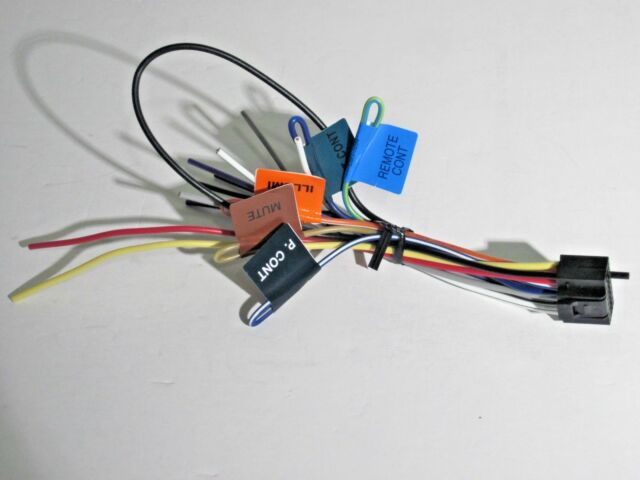 s l640 original kenwood ddx771 wire harness oem a1 ebay kenwood ddx771 wiring harness at readyjetset.co