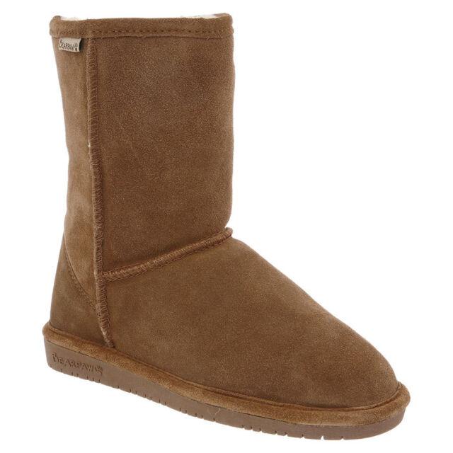 EMMA SHORT, Womens Boots, Brown (Hickory Ii 220), 6 UK (39 EU) Bearpaw