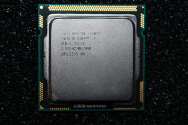 Intel Core i7-870 SLBJG 2,93 GHz/8M/09B Quad-Core LGA1156 Prozessor