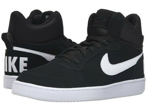 nike court borough mid black