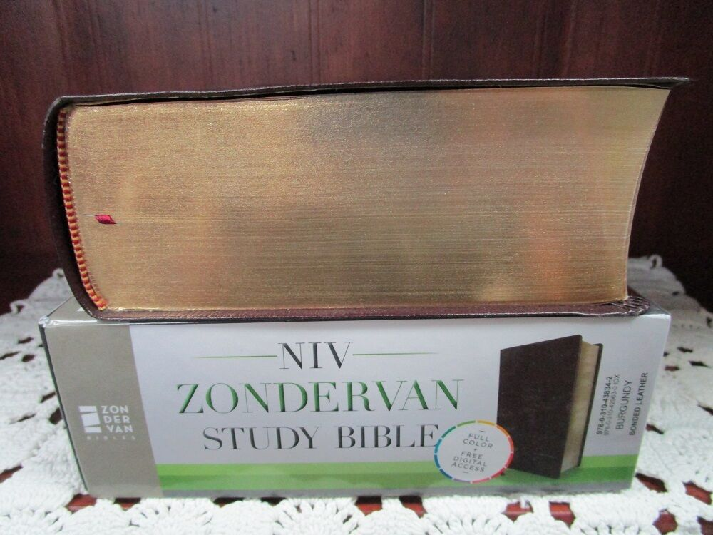 Niv zondervan study bible built on the truth of scripture and niv zondervan study bible built on the truth of scripture and centered on the gospel message 2015 bonded leather special ebay fandeluxe Image collections