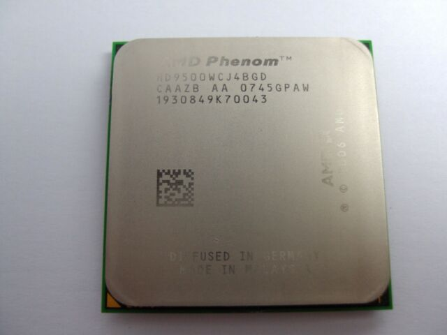 AMD Phenom X4 9500 2.2GHz Quad-Core (HD9500WCJ4BGD) Processor w/Grease
