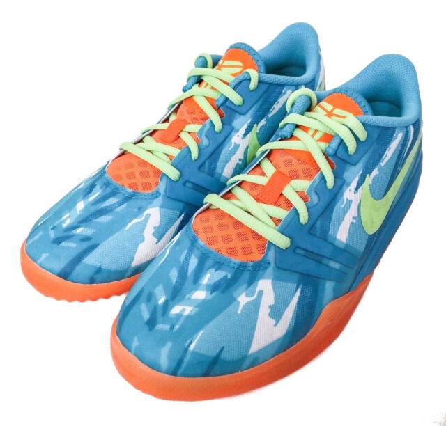 Nike KB Mentality Kobe Youth GS Basketball Shoes, Blue Size 5.5Y, #  705387100