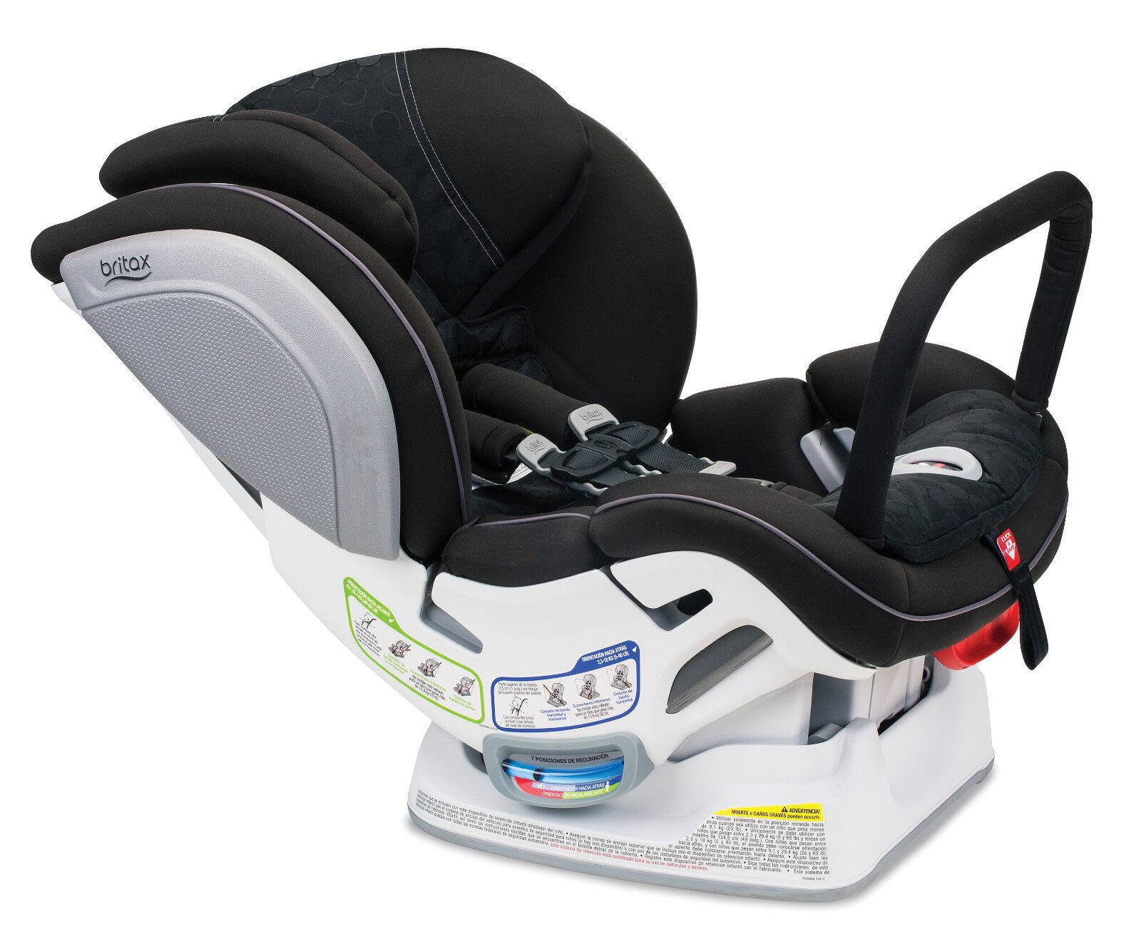 Britax Advocate CT ClickTight Convertible Car Seat In Circa W Anti Rebound Bar