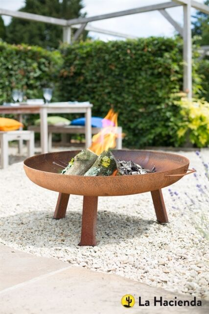 La Hacienda Pittsburgh Medium Firepit   Medium   80cm Diameter