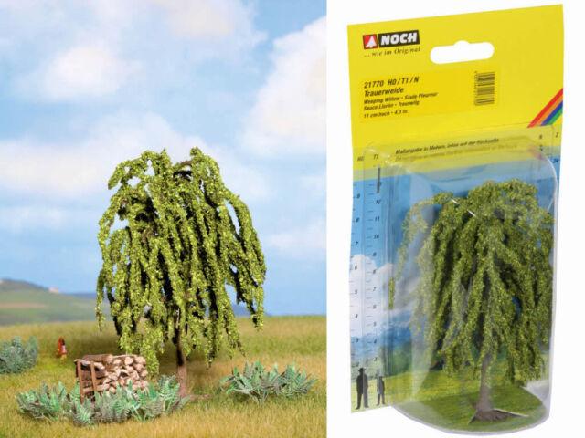NOCH 21770 Trauerweide Weide Baum 11cm Profi H0 TT N 1:87 Neu