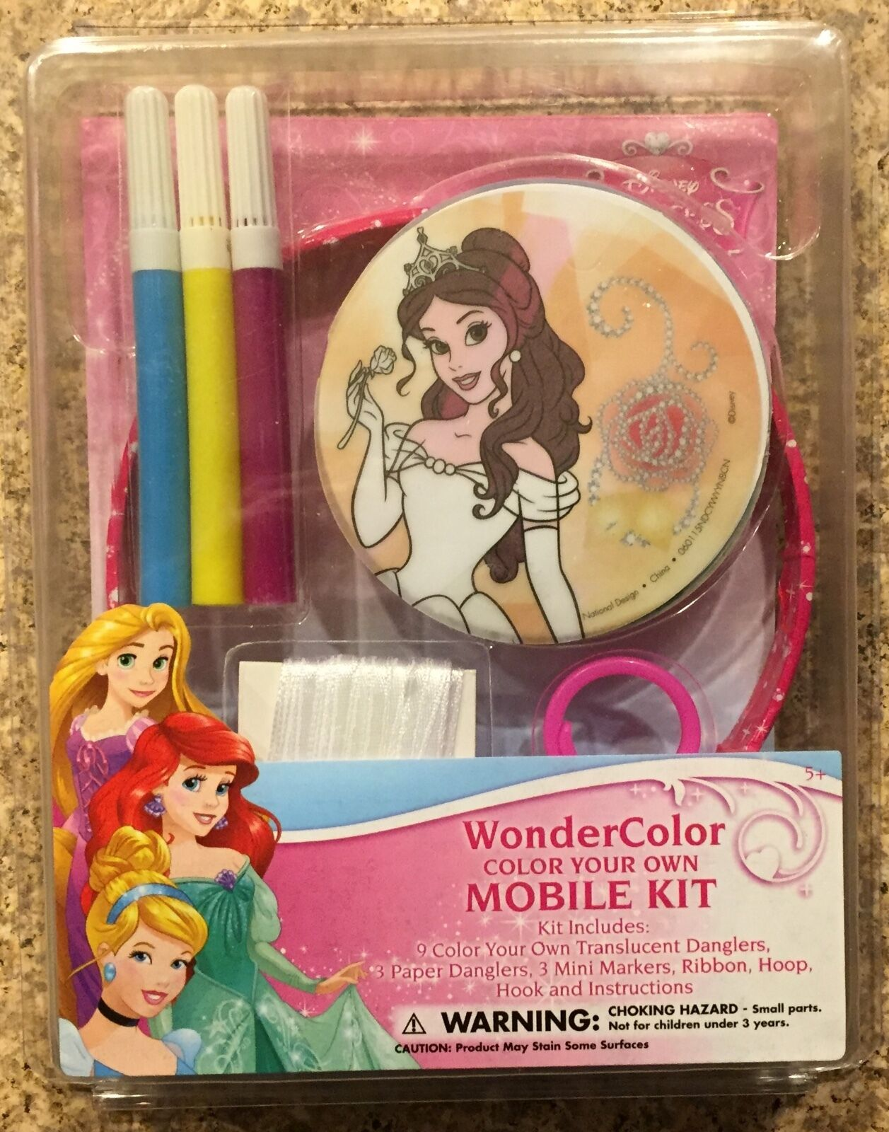 Disney princess coloring kit - Picture 1 Of 2