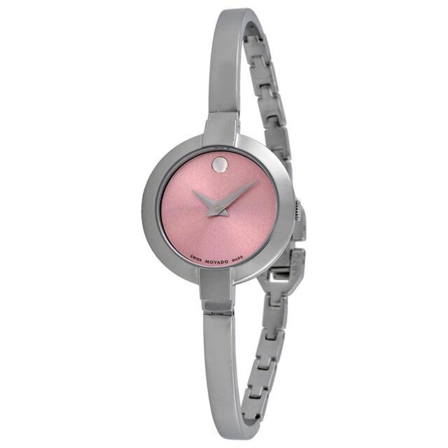 Movado Bela Pink Ladies Watch 0606596-AU