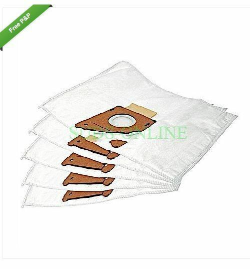 BOSCH TYPE G ELECTRUEPART VACUUM CLEANER CLOTH DUST BAGS 5PK BRAND NEW (BAG262)