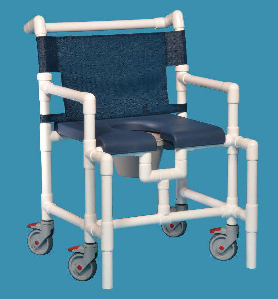 Shower Chair Commode Open Front Soft Seat - Oversize IPU Scc750 OS N ...