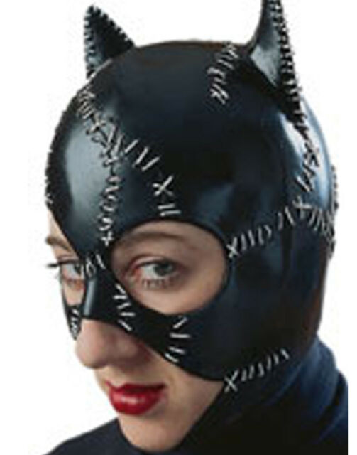 Catwoman Mask Licensed Batman Adult Womens Halloween Costume | eBay