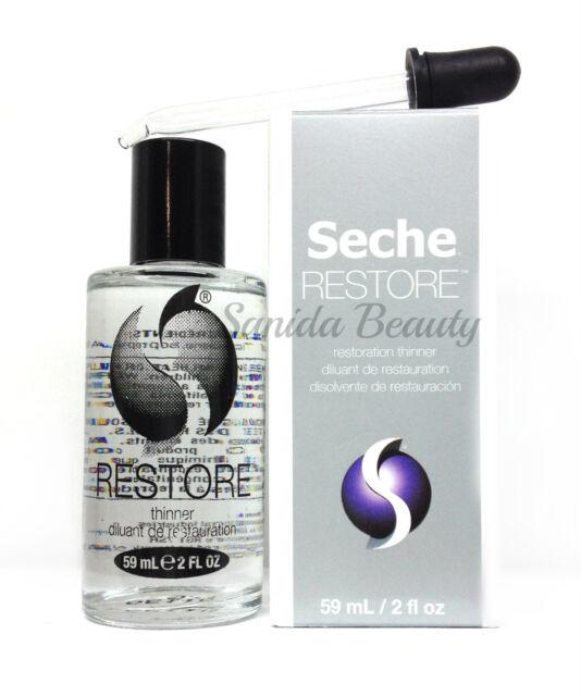 Seche Restore- Nail Lacquer Thinner 2oz/59ml Dropper | eBay