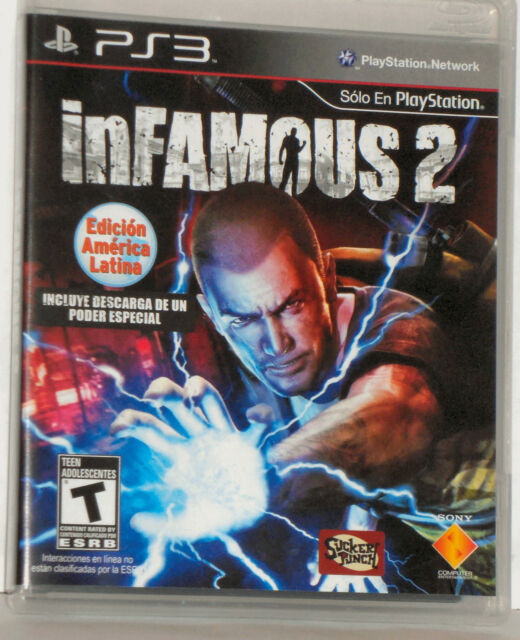 New Sealed - INFAMOUS 2 HERO EDITION - Rare Factory Mislabel - Game Oonly - PS3