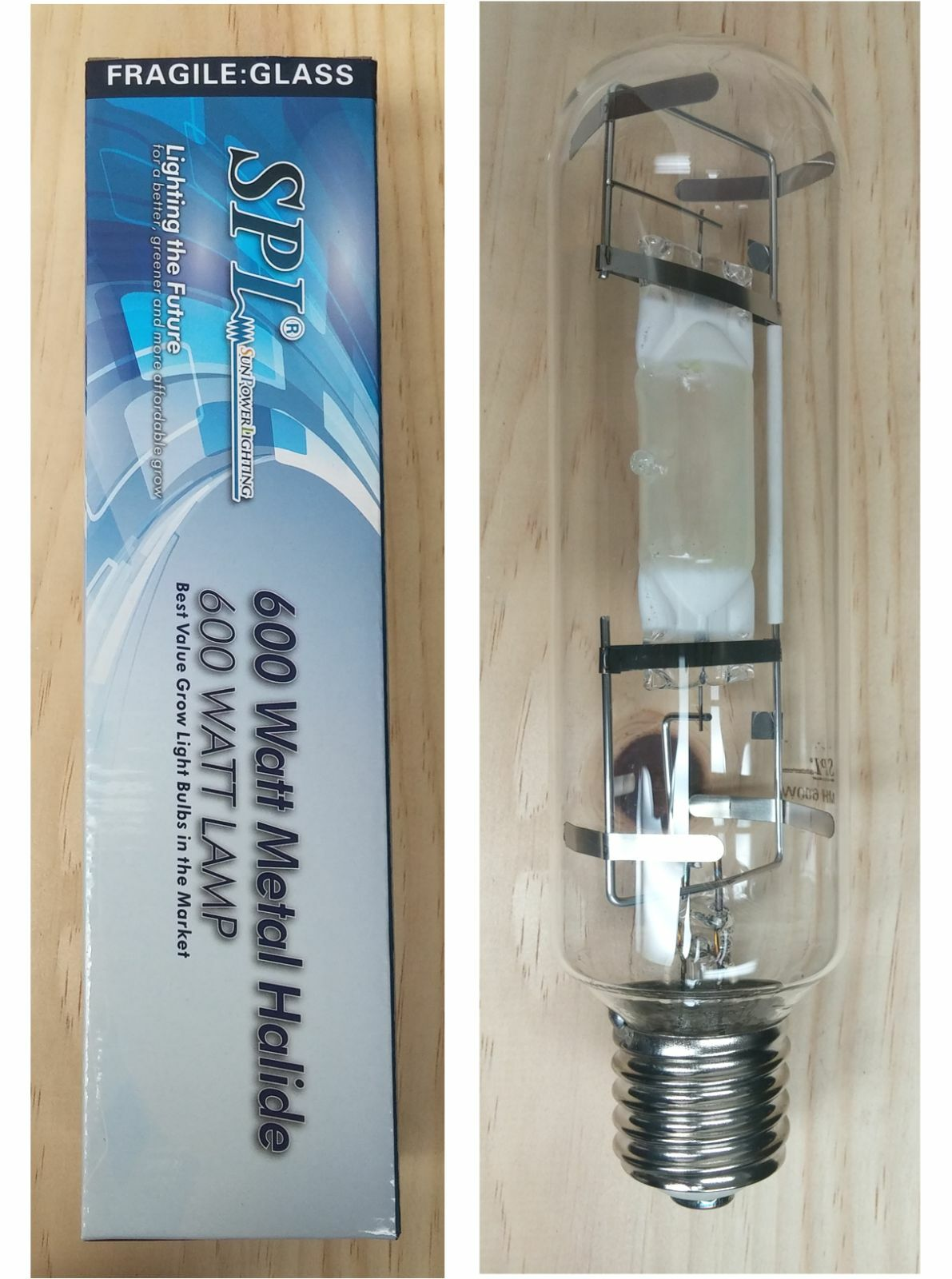 Spl 1000 600w 600watt metal halide mh grow light bulb lamp for picture 1 of 9 arubaitofo Image collections