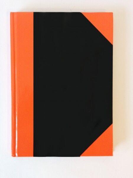 Stylex 29115 Kladde A5, kariert rot schwarz 96 Blatt