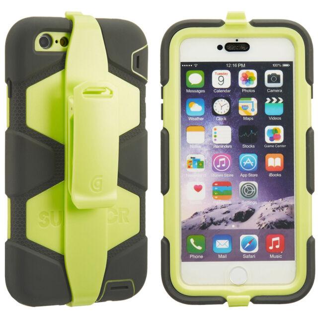 custodia iphone 6 plus verde