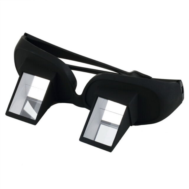 Lazy Creative Periscope Horizontal Reading Watch TV On Bed Lie View Glasses E5