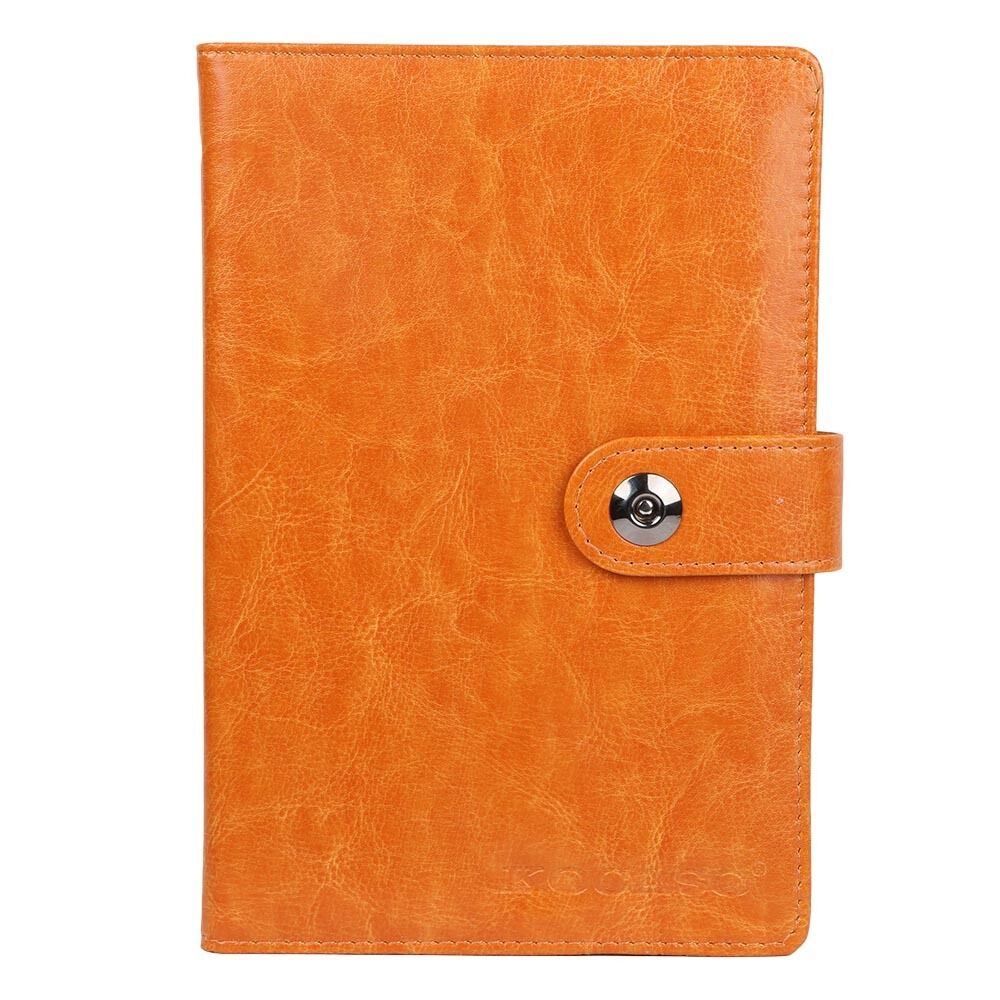 6 x 9 silk ribbon synthetic leather weekly monthly day planner