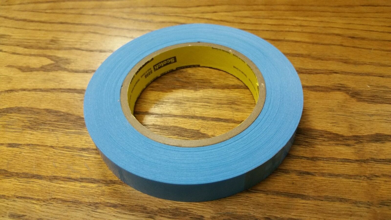 3M Scotch 8898 24mm Tubeless Bicycle Wheel Rim Tape Blue Partial ...