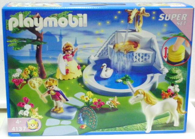 playmobil 4137 unicorn water fountain super set contents