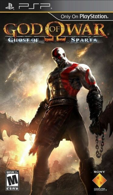 God of War Ghost of Sparta (2010) - Sony Playstation PSP Game - Black - NEW