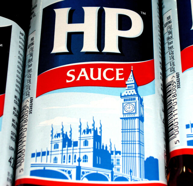 HP Original Brown Sauce 425g Steak Stew English Breakfast Grill BBQ €0.92/100g