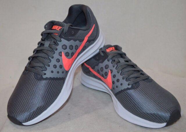 Nike Women's Downshifter 7 Grey/Lava Glow Running Shoes-Asst Size NWB WIDE  2E