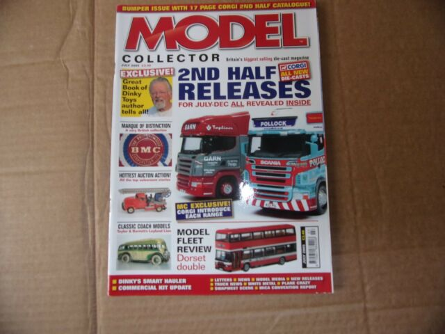 Model Collector Magazine July 2005 2nd Half Releases