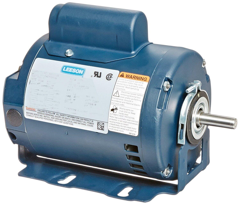 12055400 5hp Leeson Electric Motor Pool Electrical Wiring Diagram