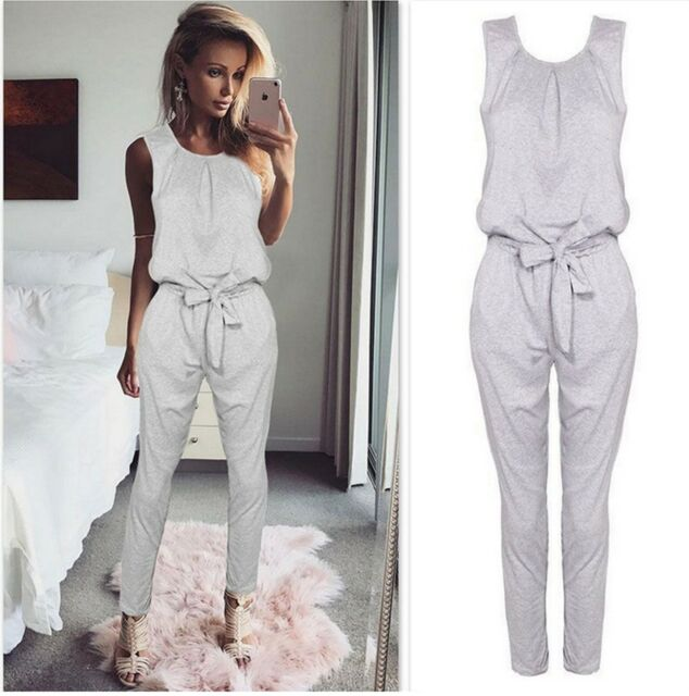 900d55bae3f3 18 watching. Womens Bandage Evening Party Playsuit Ladies Romper Long  Jumpsuit Size 6 -16 UK ...