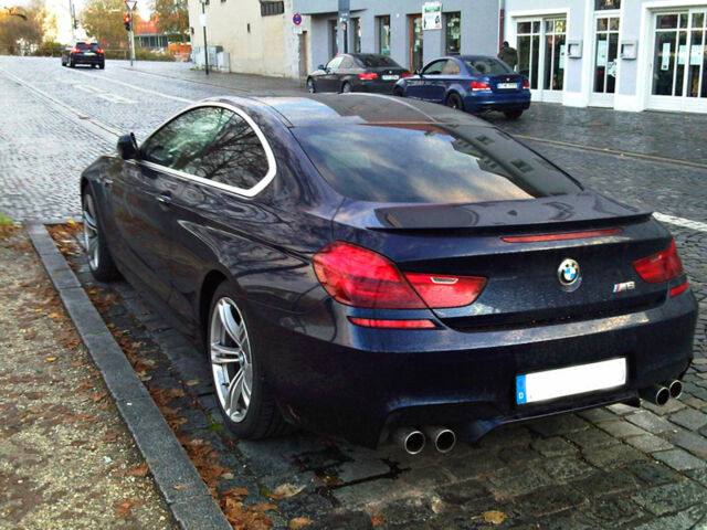 Carbon BMW F Trunk Deck Lip Spoiler M Type Gran Coupe Series - 2011 bmw m6