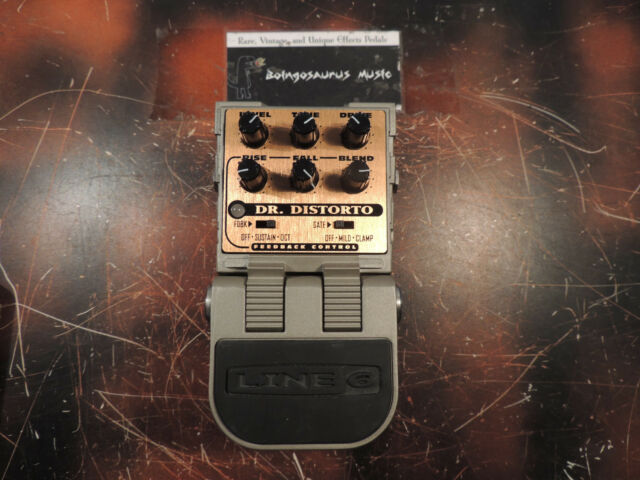 LINE 6 DR. DISTORTO FEEDBACK AND DISTORTION EFFECTS PEDAL