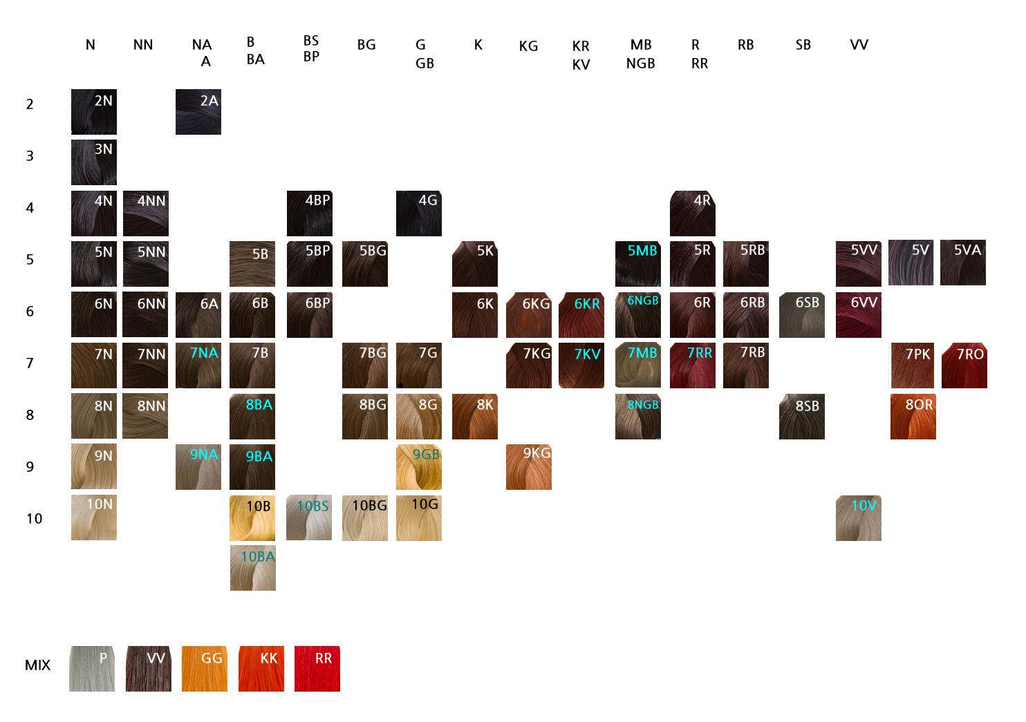 Goldwell Toner Color Chart Heartpulsar